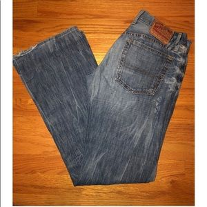"Men's Lucky Brand ""Relaxed Bootleg Jean"""